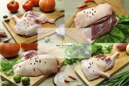 【芳苑肉品】鵝肉和櫻桃鴨成雙成對免運組