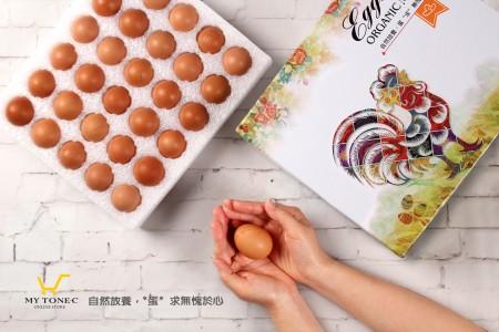 人道飼養【土雞蛋】極上紅蛋