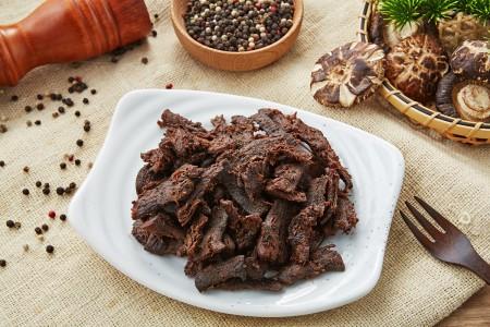 【天然恏食】黑胡椒香菇素肉干