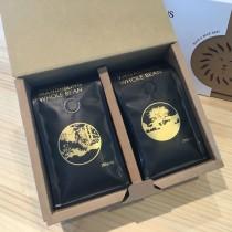 雷恩獅 咖啡禮盒(黃金曼特寧&耶加雪菲G1)