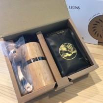 雷恩獅 咖啡禮盒(黃金曼特寧&手搖磨豆機)