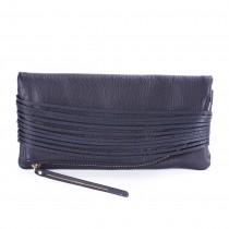 Veronique 手拿包-限量鹿皮純黑款