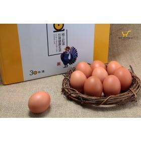 【土雞蛋】極上紅蛋30枚/盒 X 6